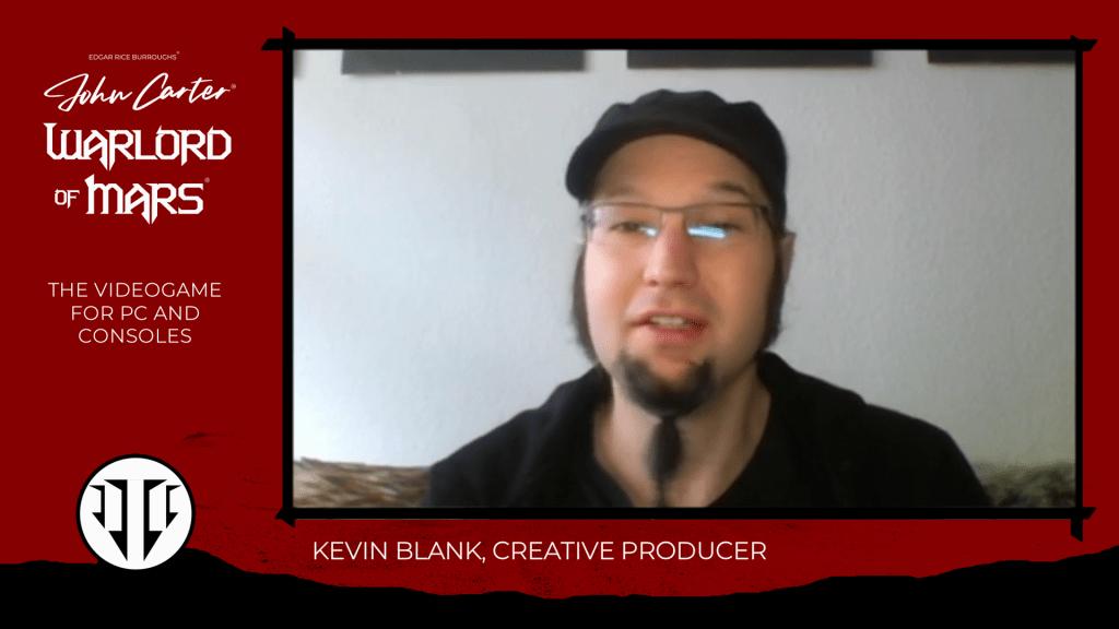 john carter game designer